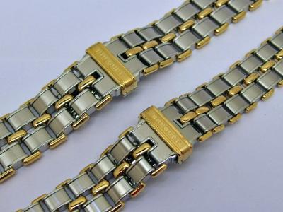 BREGUET MARINE Armband in Stahl & Gold