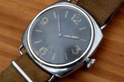 Extrem seltene Panerai 3646 Kampfschwimmer-Uhr. Extrem gut erhalten. Serial 260818