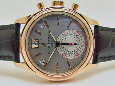 PATEK PHILIPPE Chronograph Flyback & Jahreskalender Referenz 5960R-001 in 18k Rosegold