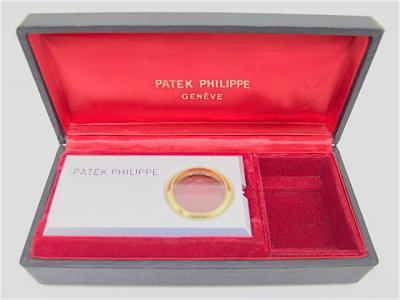 Sehr seltenes PATEK PHILIPPE Uhrwerk- Präsentationsgehäuse