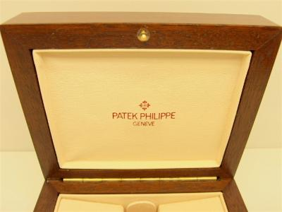 PATEK PHILIPPE Edelholz Box für Kalender / Komplikations-Modelle