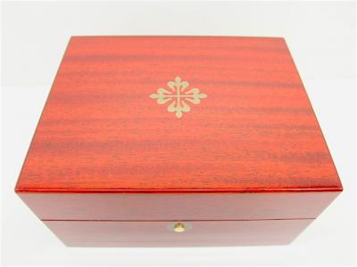 PATEK PHILIPPE Edelholz Box u. a. für Kalender / Komplikations-Modelle