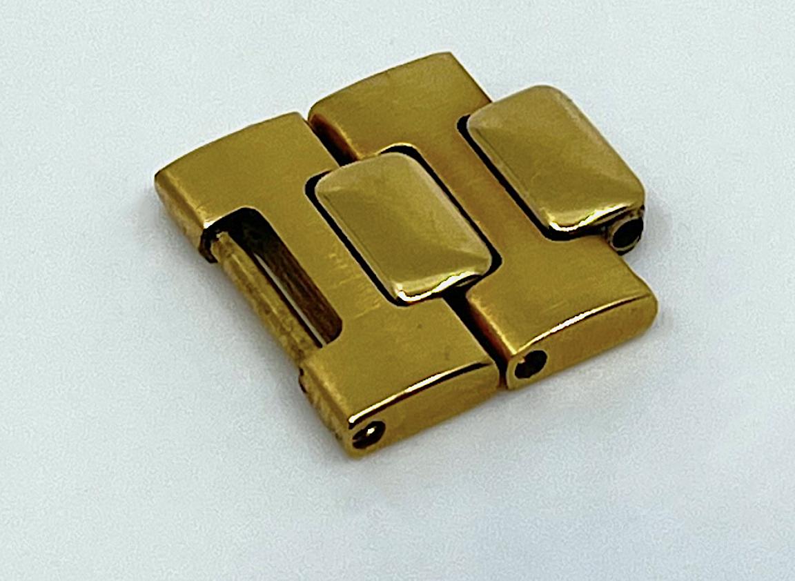 PATEK PHILIPPE Armbandelement zur Ref. 3700 Jumbo Nautilus in 18k Gelbgold