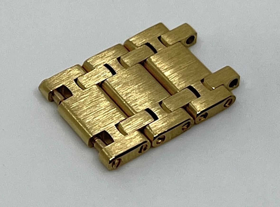 AUDEMARS PIGUET Armbandelement zur Ref. 14802 Jumbo ROYAL OAK Jubilee in 18k Gelbgold