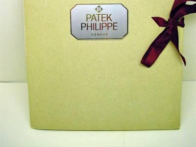 PATEK PHILIPPE Presseinformationen zum Caliber 89