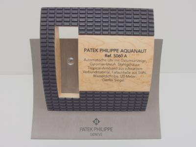 PATEK PHILIPPE seltener Dekorations-Aufsteller in Holz - Metall & Kautschuk