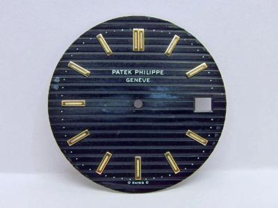PATEK PHILIPPE Sigma Zifferblatt zur Referenz 3700 Jumbo Nautilus in Gelbgold & Stahl/Gold