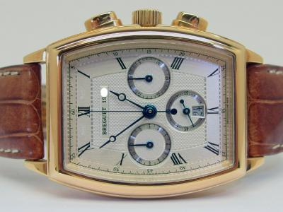 BREGUET HÈRITAGE Chronograph in 18k Gelbgold