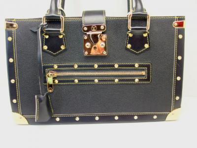 LOUIS VUITTON black Suhali Le Fabuleux Bag
