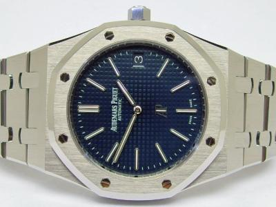"AUDEMARS PIGUET Jumbo ROYAL OAK ""AP Logo"" Extra-Thin in Edelstahl"