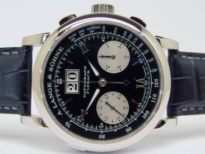 A. LANGE & SÖHNE DATOGRAPH Flyback in 950 Platin