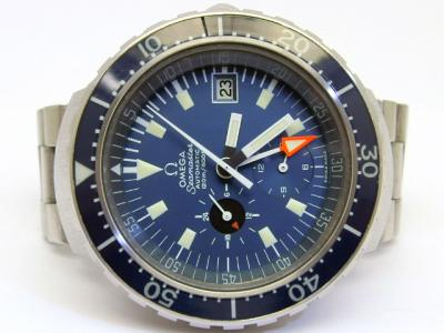 "OMEGA SEAMASTER 120 ""Big Blue"" Referenz 176.004 in Stahl"