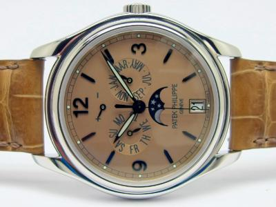 Limited Advanced Research PATEK PHILIPPE Referenz 5450P Jahreskalender in 950 Platin