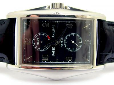 Limitierte PATEK PHILIPPE TEN DAYS Year 2000 Third Millenium Referenz 5100P-001 in 950 Platin
