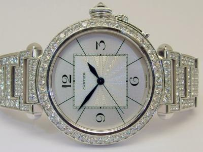 CARTIER Pasha de Cartier Joaillerie Reference 2765 in 18k Whitegold