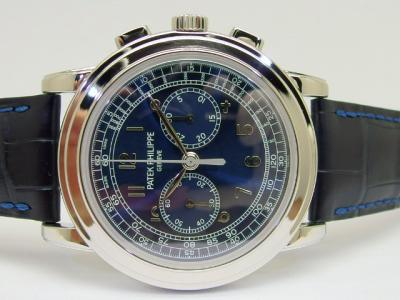 The rarest 5070? Limited Chronograph by PATEK PHILIPPE Reference 5070P-013 / Dial H900.559.XXX