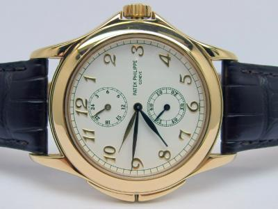 Patek Philippe TRAVEL TIME Referenz 5134J in 18k Gelbgold