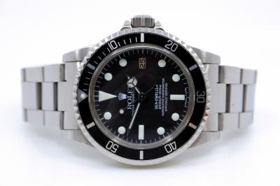 "ROLEX SEA DWELLER ""white dial"""