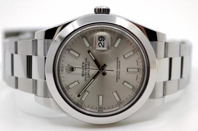 gebraucht ROLEX DATE-JUST II Chronometer in Stahl