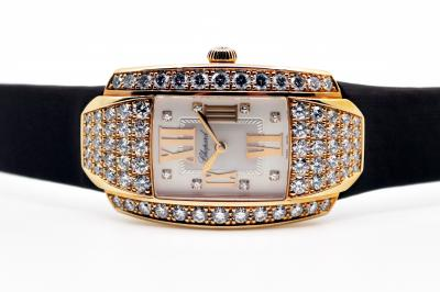 pre owned CHOPARD LA STRADA in 18k Roségold