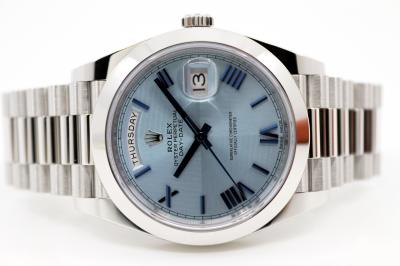gebraucht ROLEX DAY-DATE 40 Chronometer in Platin