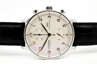 pre owned IWC PORTUGIESER Automatic Chronograph