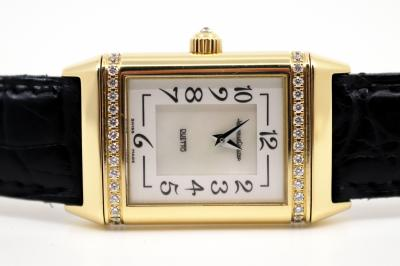 pre owned Jaeger LeCoultre REVERSO DUETTO Diamonds