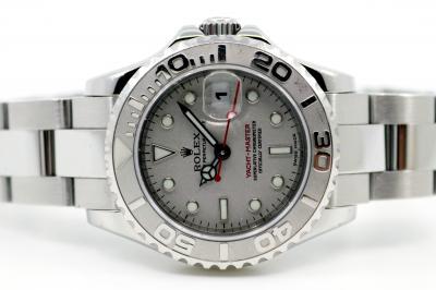 gebraucht ROLEX Lady YACHT-MASTER Chronometer in Stahl