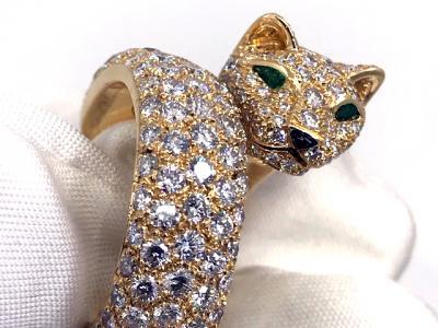 gebraucht CARTIER Panthère de Cartier Ring in 18k Gelbgold
