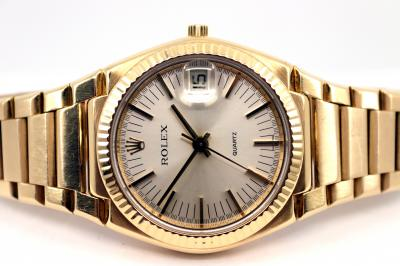 """pre owned Limited ROLEX """"IL TEXANO"""" Beta 21 in 18k Yellowgold"""