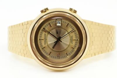 pre owned Jaeger LeCoultre MEMOVOX Snowdrop