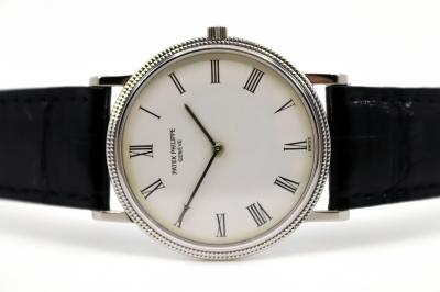 pre owned PATEK PHILIPPE CALATRAVA produced and delivered for the Japanese Market