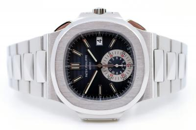pre owned PATEK PHILIPPE NAUTILUS Chronograph Flyback