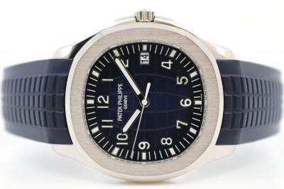 pre owned PATEK PHILIPPE Jumbo AQUANAUT blue