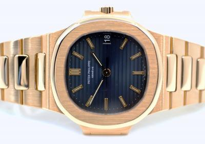pre owned Very early PATEK PHILIPPE NAUTILUS Gentswatch