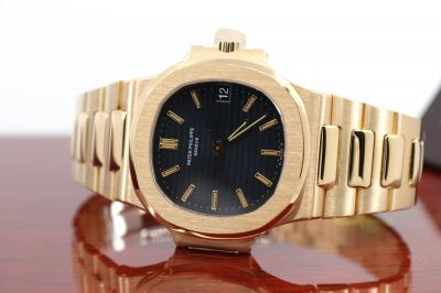 pre owned Early PATEK PHILIPPE NAUTILUS Gentswatch