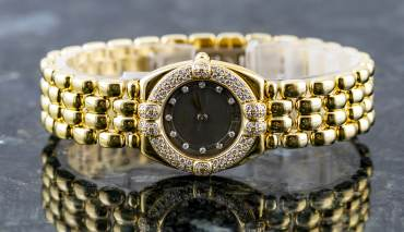 pre owned CHOPARD GSTAAD in 18k Yellowgold