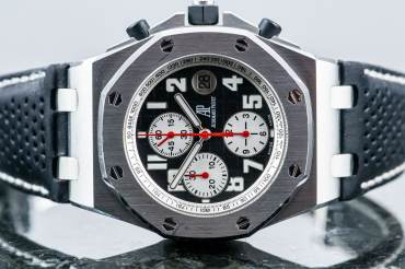 gebraucht Limited Audemars Piguet ROYAL OAK OFFSHORE Boutique Chronograph TOUR AUTO in Stahl