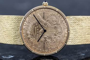 gebraucht Vintage CORUM COIN WATCH Double Eagle 20 US $