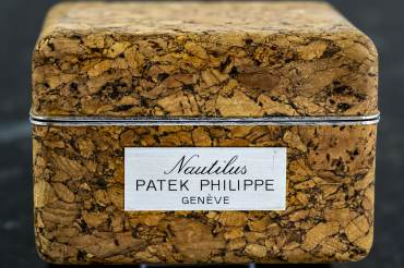 pre owned Very rare Vintage PATEK PHILIPPE Cork Box for NAUTILUS Reference 3700 from 1976