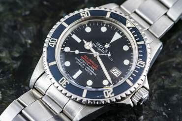 pre owned Extremely rare Double Red MK2 - ROLEX SEA DWELLER Chronometer in Steel