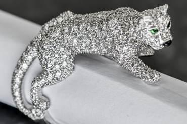 gebraucht CARTIER Panthère de Cartier Ring in 18k Weißgold