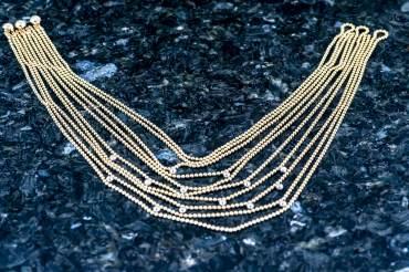 """gebraucht CARTIER Halskette """"Draperie de Decollete"""" in 18k Gelbgold"""