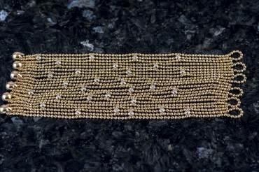 """gebraucht CARTIER Armband """"Draperie de Bracelet"""" in 18k Gelbgold"""
