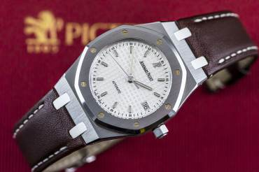 gebraucht Limited AUDEMARS PIGUET ROYAL OAK Pictet & Cie 1805 - 2005 in Stahl