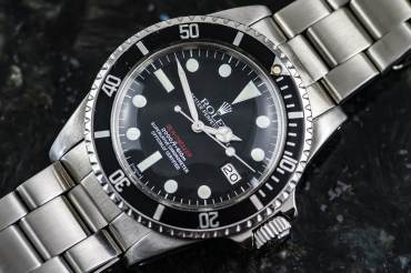 gebraucht Extrem seltene Single Red MKIII - ROLEX SEA DWELLER Chronometer in Stahl