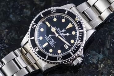 """gebraucht Seltene & frühe ROLEX SEA DWELLER MK1 Chronometer """"Great White"""" in Stahl"""