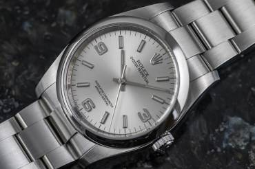 """gebraucht ROLEX OYSTER PERPETUAL Chronometer """"Explorer Dial"""" in Stahl"""