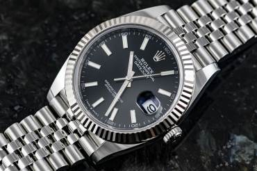 gebraucht ROLEX OYSTER PERPETUAL - DATE JUST 41 Chronometer in Stahl