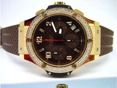 HUBLOT BIG BANG Limited CAPPUCCINO in 18kt Rosegold mit orig. Diamantlünette